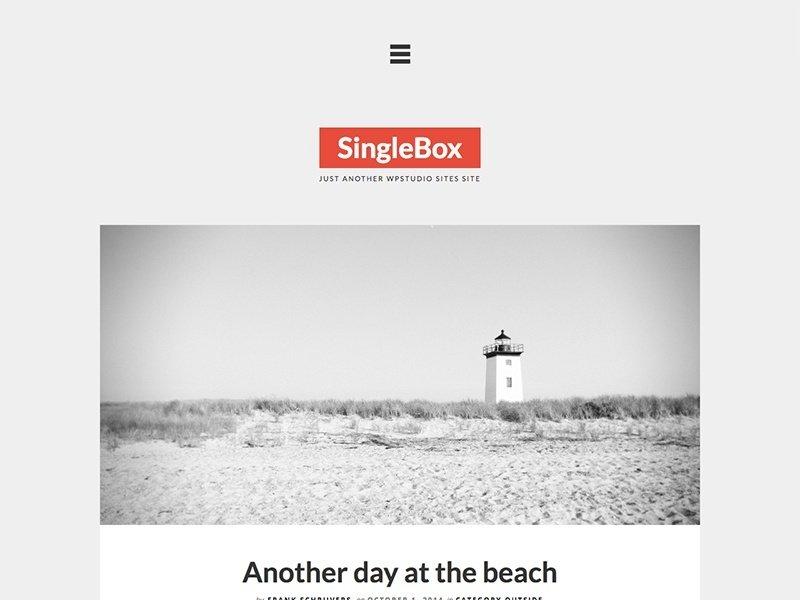 theme singlebox