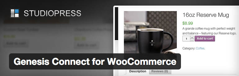 genesis connect woocommerce plugin