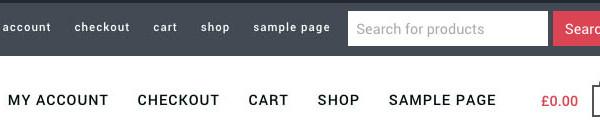 WooCommerce search bar Genesis