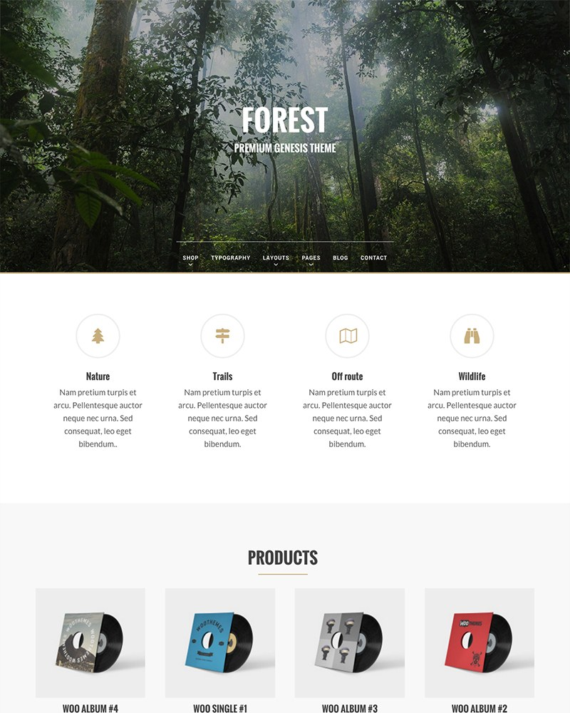 Forest Genesis Theme
