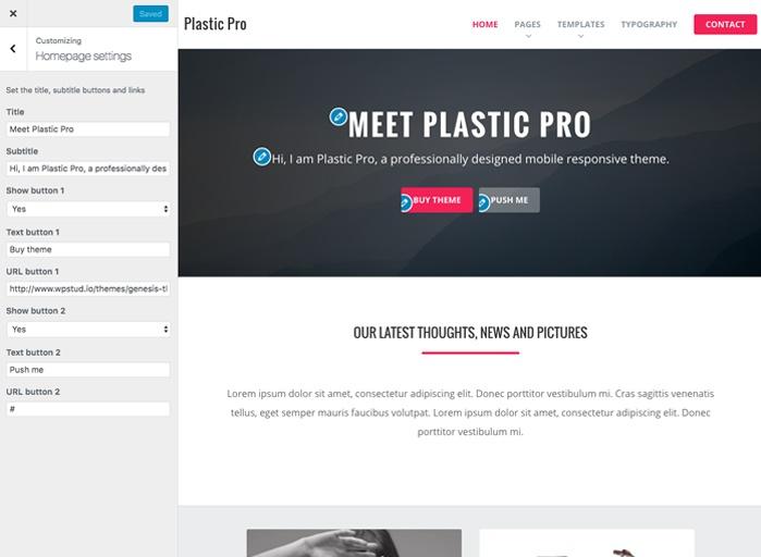Plastic Customizer